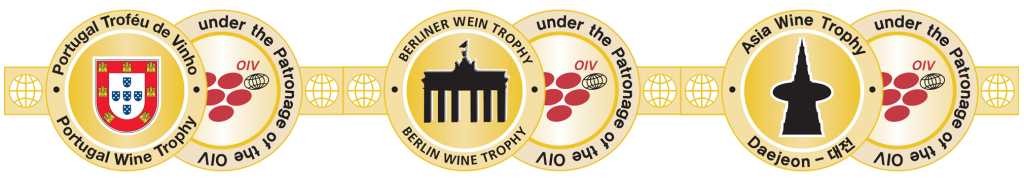 3 Wine Trophy Medals