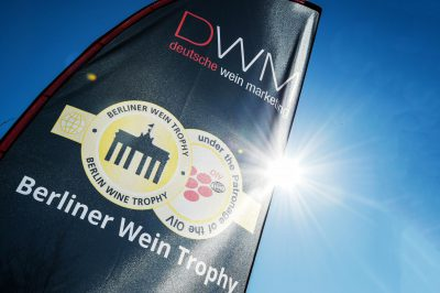 Berliner Wine Trophy - Gold Medal Logo - Sunny day - Wine Tasting - Wine Challenge