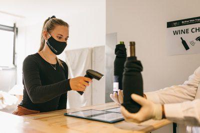Berliner Wine Trophy - Backstage Wine Check Station - Wine Challenge - Wine Scanner