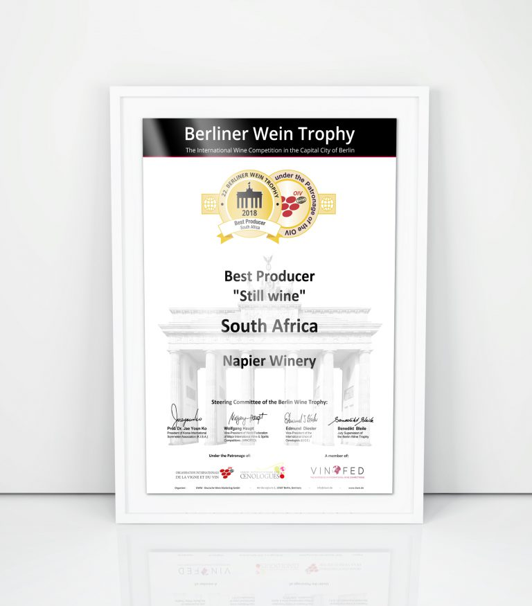 DWM - Berliner Wein Trophy Special Awards