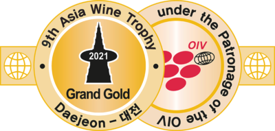 Asia Wine Trophy 2021 Medal - Asia's Largest Wine Challenge