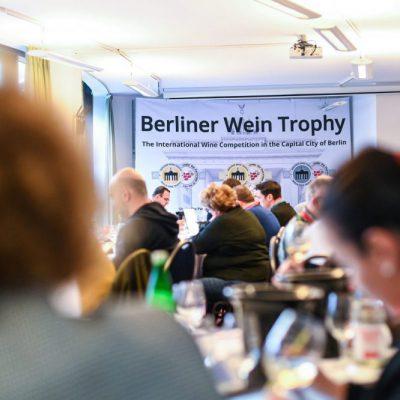 Berliner Wein Trophy - tasting room 1