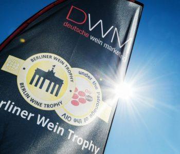 Berliner Wine Trophy - Gold Medal Logo - Sunny day - Wine Tasting - Wine Challenge